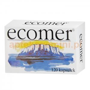 NATUMIN PHARMA AB Ecomer, 250mg, 120 kapsułek