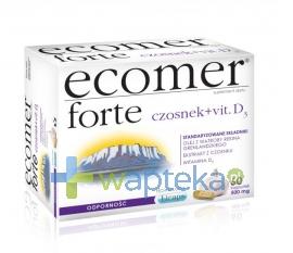 KROTEX-POLAND SP. Z O.O. Ecomer Forte 60 kapsułek