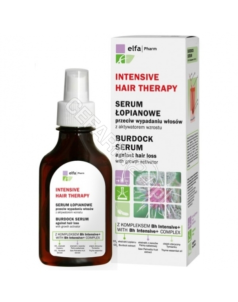 ELFA PHARM Elfa Pharm Intensive Hair Therapy serum łopianowe do włosów 100 ml