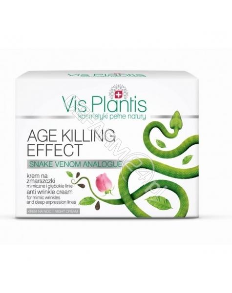 ELFA PHARM Elfa Pharm Vis Plantis Age Killing Effect krem na zmarszczki mimiczne i głębokie linie na noc 50 ml