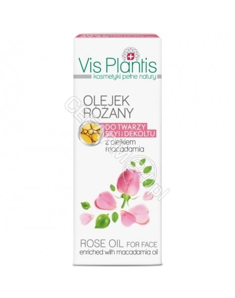 ELFA PHARM Elfa Pharm Vis Plantis olejek różany do twarzy, szyi i dekoltu z olejkiem macadamia 30 ml