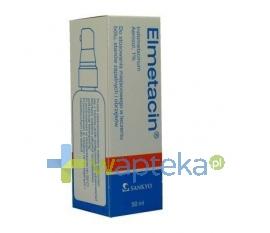 SANKYO PHARMA GMBH Elmetacin aerozol leczniczy 50 ml