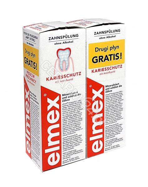 GABA Elmex płyn do płukania jamy ustnej 2x400 ml (duopack)