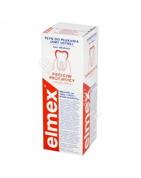 GABA Elmex płyn do płukania jamy ustnej 400 ml (data ważności 31.05.2016)