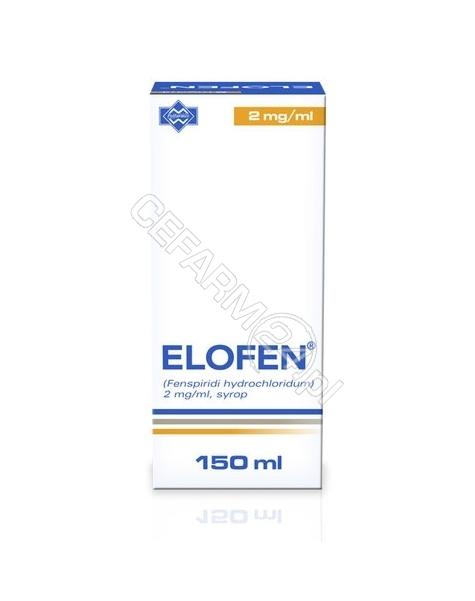 POLFARMEX Elofen syrop 2 mg/1 ml 150 ml