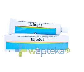 PIERRE FABRE MEDICAMENT ELUGEL z chlorhexydyną 0,2% żel 40 ml