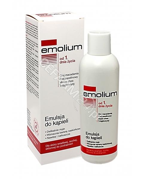 NEPENTES Emolium emulsja do kąpieli bez parabenów 400 ml