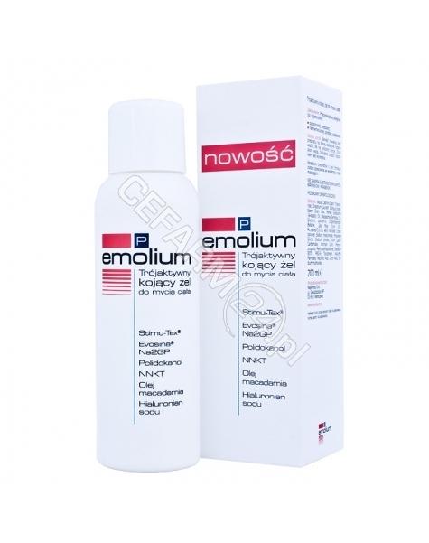 NEPENTES Emolium p trójaktywny żel do mycia ciała 200 ml
