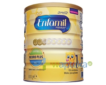 MEAD JOHNSON NUTRITION (POLAND)SP. Z O.O. ENFAMIL 1 PREMIUM Lipil mleko 0-6 mcy 800g