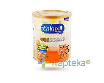 MEAD JOHNSON NUTRITION (POLAND)SP. Z O.O. ENFAMIL 3 PREMIUM Mleko powyżej 1 roku życia 400g