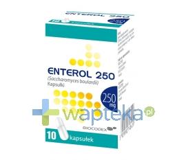 BIOCODEX Enterol 250 kapsułki 10 sztuk