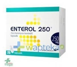 BIOCODEX Enterol 250 kapsułki 20 sztuk