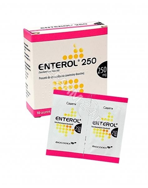 INPHARM Enterol 250 mg x 10 sasz (import równoległy - Inpharm)