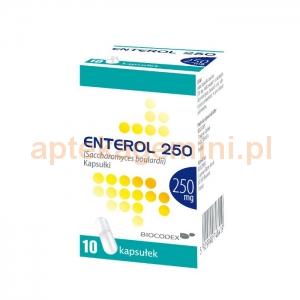 BIOCODEX Enterol, 250mg, 10 kapsułek