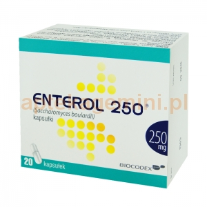 BIOCODEX Enterol, 250mg, 20 kapsułek