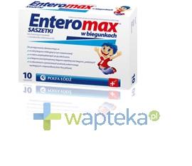 ZAKŁADY FARMACEUTYCZNE POLFA-ŁÓDŹ S.A. Enteromax 10 saszetek