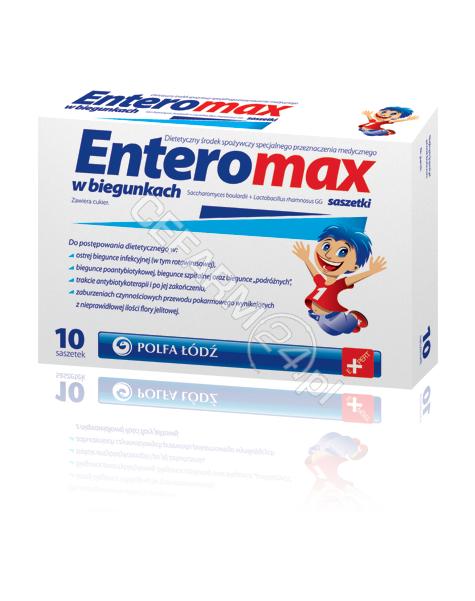 POLFA ŁÓDŹ Enteromax x 10 sasz