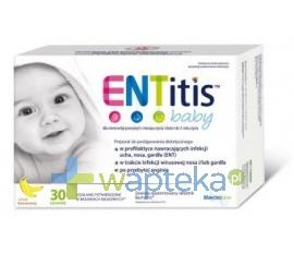 SEQUOIA SP. Z O.O. ENTitis Baby Proszek smak bananowy 30 saszetek