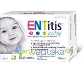 SEQUOIA SP. Z O.O. ENTitis Baby Proszek smak neutralny 30 saszetek