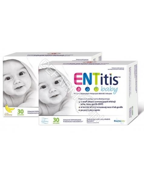 SEQUOIA Entitis baby x 30 sasz o smaku neutralnym