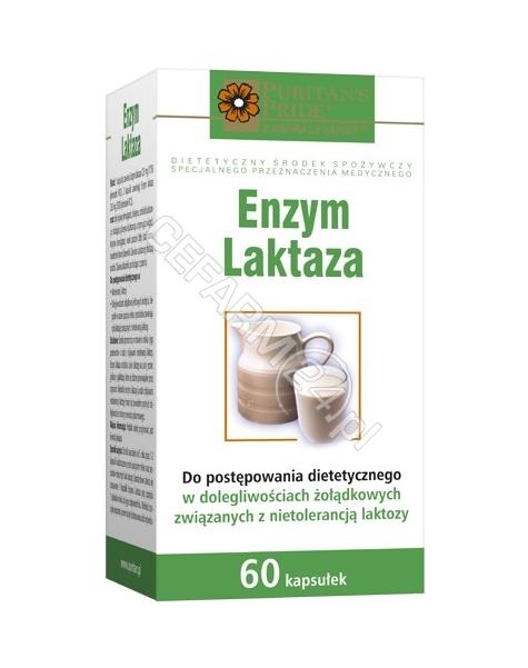 PURITAN'S PR Enzym laktaza x 60 kaps