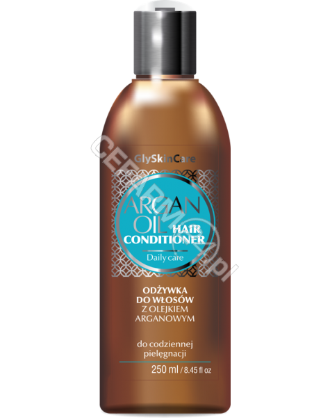 EQUALAN Equalan glyskincare odżywka do włosów z olejkiem arganowym 250 ml