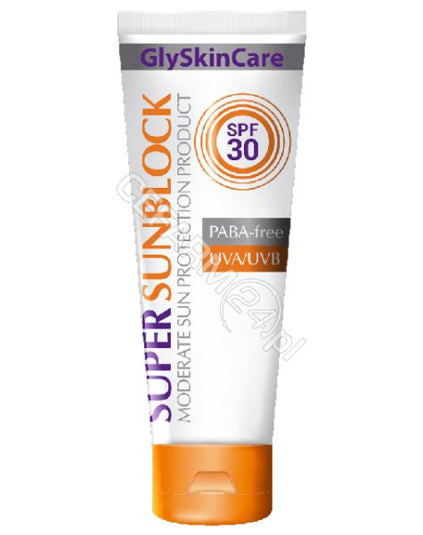 EQUALAN Equalan glyskincare super sunblock krem ochronny do twarzy spf 30 125 ml (data ważności 30.04.2016)