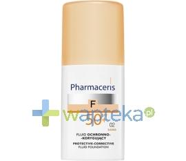 PHARMACERIS ERIS PHARMACERIS F Fluid ochronno-korygujący SPF50+ 02 SAND 30ml