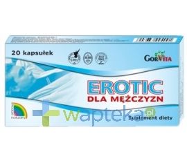 GORVITA PPHU Erotic dla mężczyzn 20 kapsułek