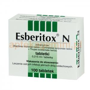 SCHAPER & BRUMMER GMBH & CO. KG Esberitox N 100 tabletek