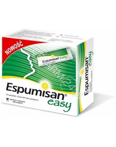 BERLIN-CHEMI Espumisan easy granulki 125 mg x 14 sasz