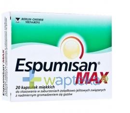 BERLIN CHEMIE AG Espumisan MAX kaps.miękkie 20 sztuk