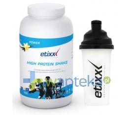 OMEGA PHARMA POLAND SP Z OO Etixx High Protein Shake Vanilla proszek 1000g shaker ETIXX gratis !!!