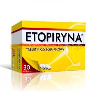 ZAKŁADY FARM. Etopiryna 30 tabletek