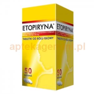 ZAKŁADY FARM. Etopiryna 50 tabletek