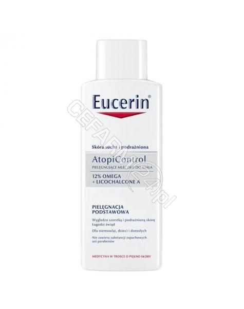 BEIERSDORF Eucerin atopicontrol pielęgnujące mleczko do ciała 250 ml