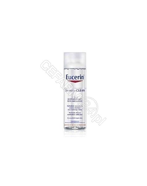 BEIERSDORF Eucerin dermatoclean oczyszczający płyn micelarny 3w1 200 ml