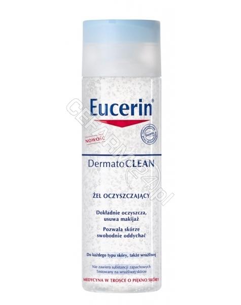BEIERSDORF Eucerin dermatoclean żel oczyszczający do demakijażu twarzy 200 ml
