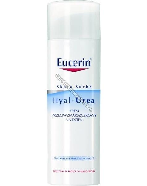 BEIERSDORF Eucerin hyal-urea krem przeciwzmarszczkowy na dzień 50 ml