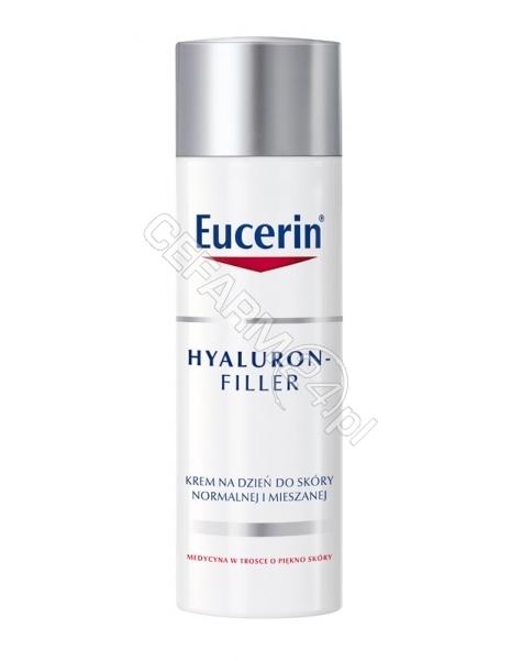 BEIERSDORF Eucerin hyaluron-filler krem wypełniający zmarszczki na dzień spf 15 do skóry normalnej i mieszanej 50 ml