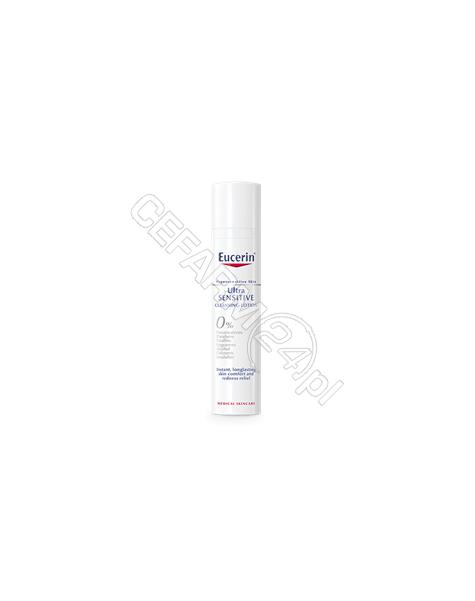 BEIERSDORF Eucerin UltraSensitive kremowa emulsja do oczyszczania twarzy 100 ml
