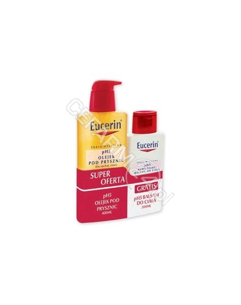 BEIERSDORF Eucerin zestaw ph5 - olejek pod prysznic 400 ml + nawilżający balsam do ciała 200 ml GRATIS !!!