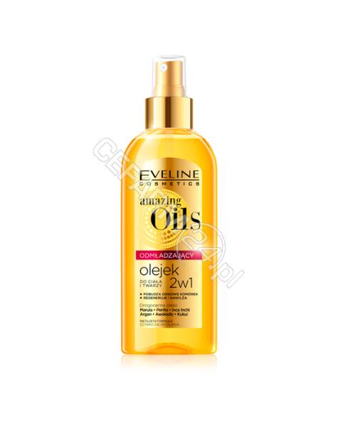 EVELINE COSM Eveline Amazing Oils odmładzający olejek do ciała i twarzy 2w1 150 ml