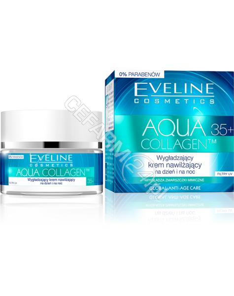 EVELINE COSM Eveline Aqua Collagen 35+ wygładzający krem nawilżający na dzień i na noc 50 ml