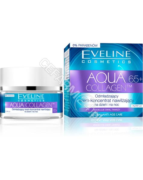 EVELINE COSM Eveline Aqua Collagen 65+ odmładzający krem-koncentrat nawilżający na dzień i na noc 50 ml