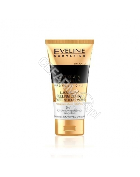EVELINE COSM Eveline Argan&Vanilia Professional luksusowy peeling do rąk 75 ml