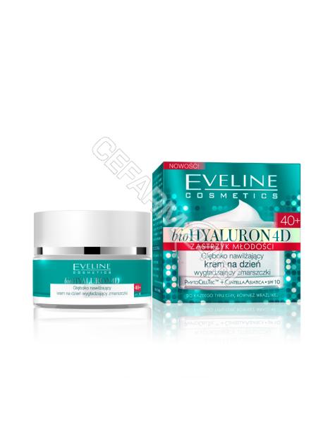 EVELINE COSM Eveline bioHyaluron 4D Zastrzyk Młodości 40+ głęboko nawilżający krem na dzień 50 ml