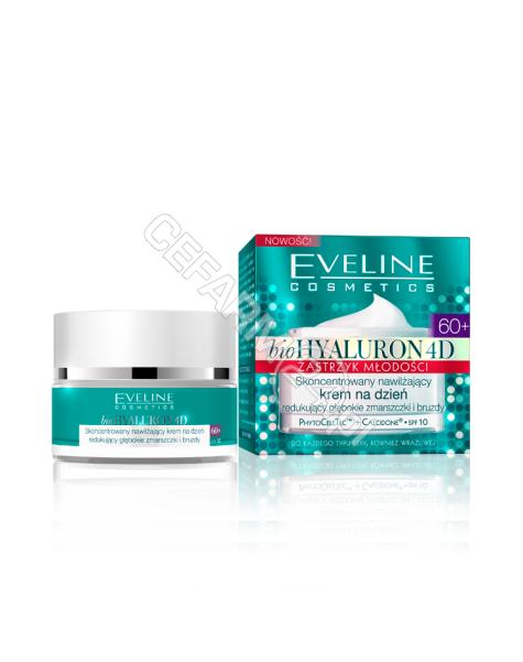 EVELINE COSM Eveline bioHyaluron 4D Zastrzyk Młodości 60+ skoncentrowany przeciwzmarszczkowy krem na noc 50 ml