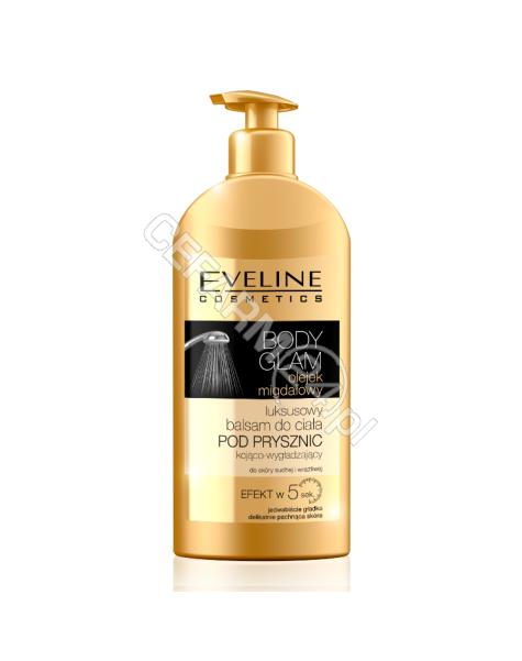EVELINE COSM Eveline Body Glam luksusowy balsam pod prysznic olejek migdałowy 350 ml