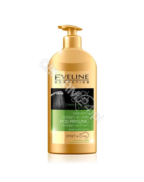 EVELINE COSM Eveline Body Glam luksusowy balsam pod prysznic trawa cytynowa + kokos 350 ml